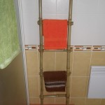 Porte serviette bambou