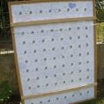 Encadrement Puzzle d'or Verso